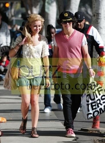Chelsea Staub and Joe Jonas