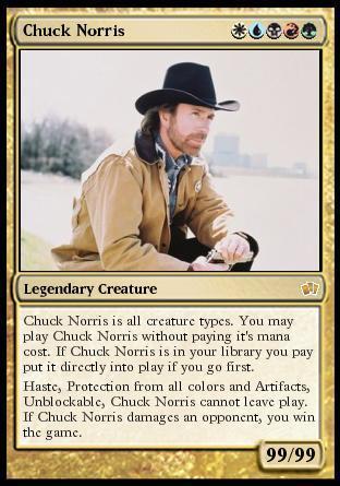 Chuck Norris Card