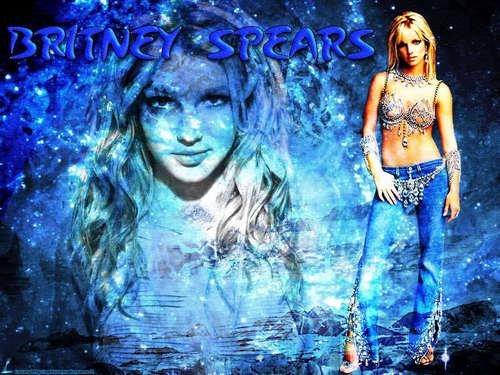 Cool Britney پیپر وال