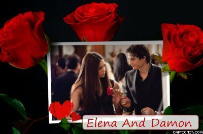 Damon And Elena Fanart (I Made)