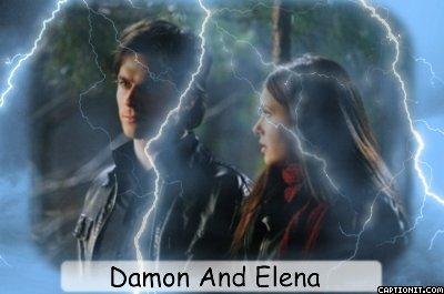 Damon And Elena Fanart (I Made)