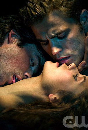 Damon, Elena, and Stefan