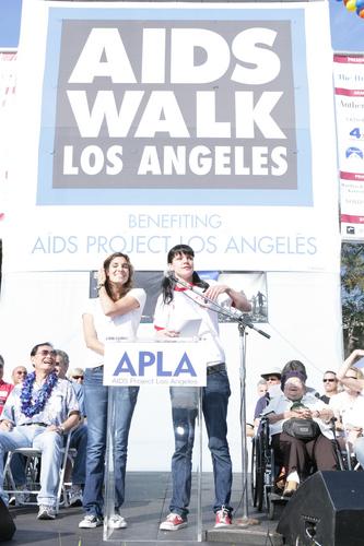 Daniela @ 25th Annual AIDS Walk Los Angeles [October 18]