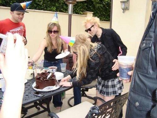 Deryck's birthday party