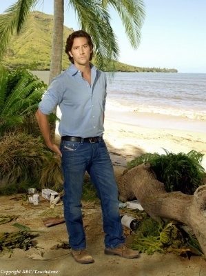 Lost wallpaper entitled Desmond - season 6 promotional photos