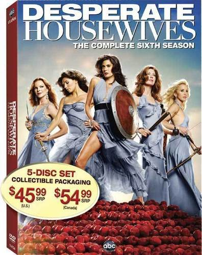 Desperate Housewives Season 6 DVD Cover