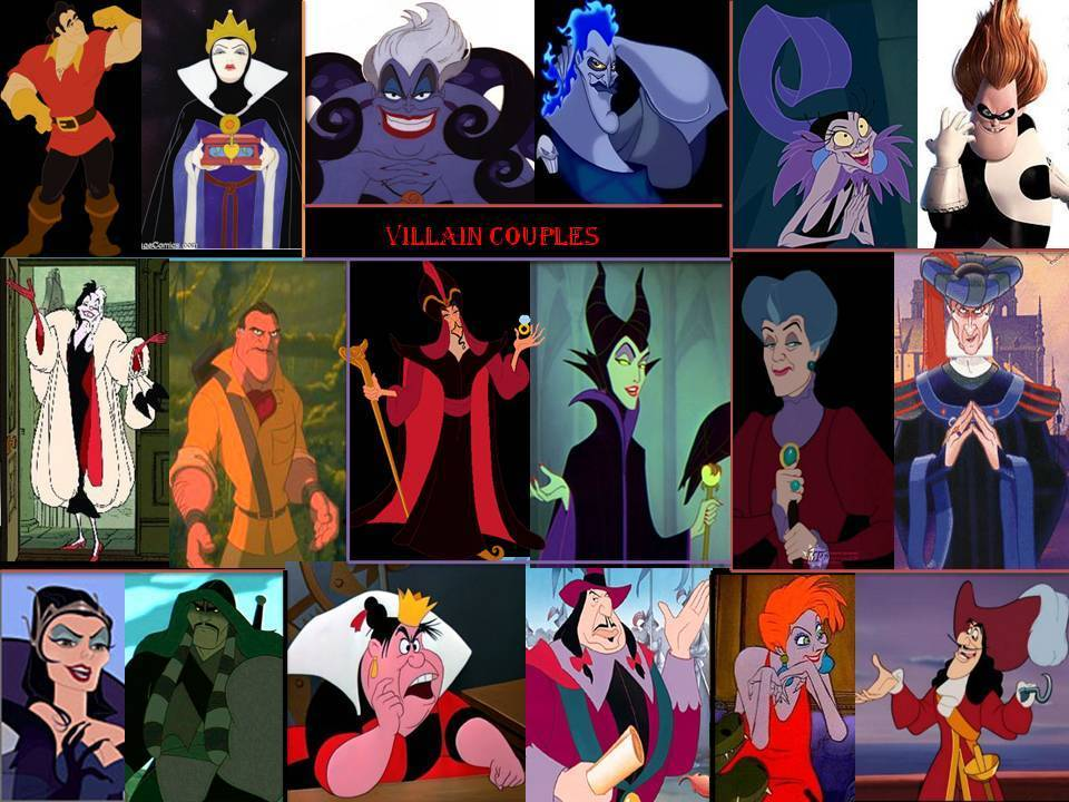 Disney Villain Couples