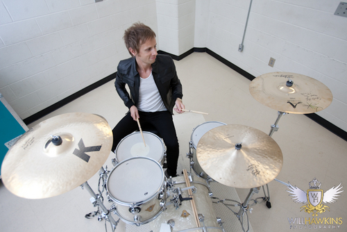 Dominic Howard photoshoot 2010 によって Will Hawkins