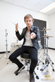 Dominic Howard photoshoot 2010 by Will Hawkins
