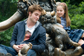 EDward & Renesmee at the park