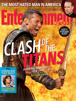 Entertainment Weekly April 2 Cover