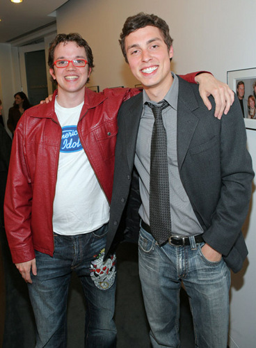Eric Millegan and John Francis Daley