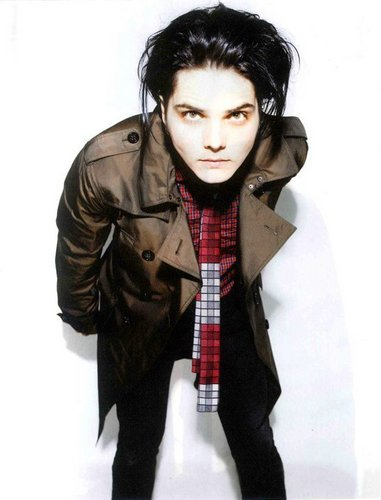 My Chemical Romance wallpaper titled Gerard Way Photoshoot for Nylon Guys Magazine