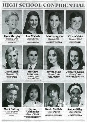 Glee High School Yearbook!