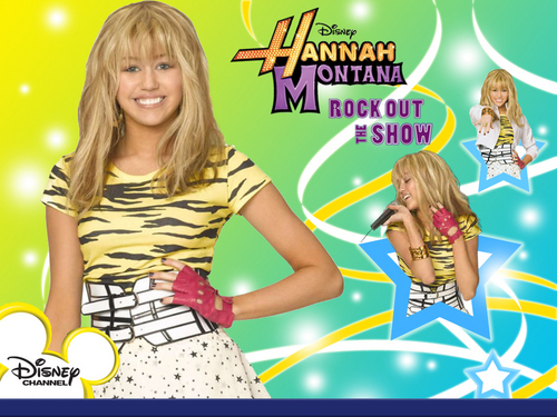 Hannah Montana new exclusive Rock out the montrer wallpapers!!!!!!