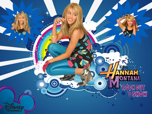 Hannah Montana new exclusive Rock out the دکھائیں wallpapers!!!!!!