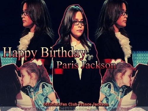 Happy Birthday Paris *Official प्रशंसक Club Prince Jackson*
