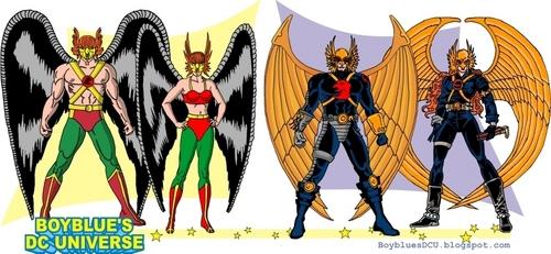 Hawkman & Hawkgirl 2