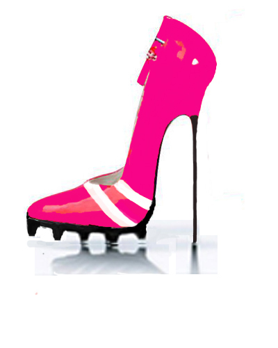 Women's Shoes wallpaper titled Hot pink stiletto :)