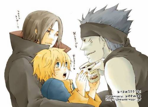ItaNaru plus Kisame!