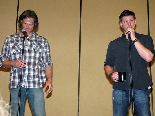 Jared & Jensen at LA Con '10