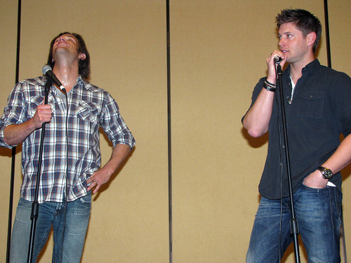 Jared & Jensen at LA Con '10