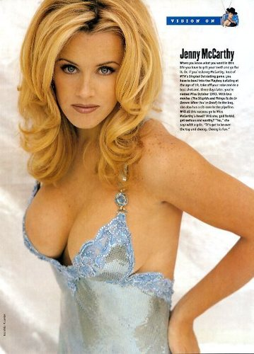 Jenny McCarthy--Playboy and और