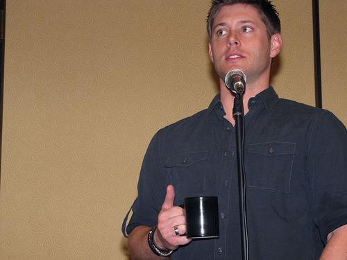 Jensen Ackles at LA Con '10
