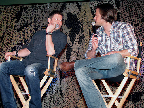 Jensen & Jared at LA Con 2010