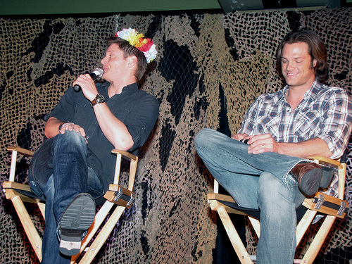 Jensen & Jared at LA Con 2010