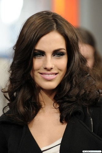 Jessica Lowndes wallpaper called Jessica Lowndes on MuchMusic's Much On Demand TV Show