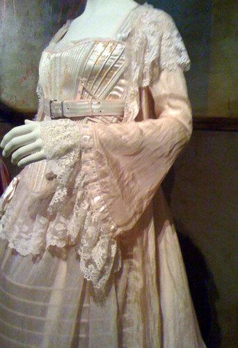 Johanna's roze dress