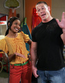 John Cena on Nickelodeon's 'True Jackson, VP' <33