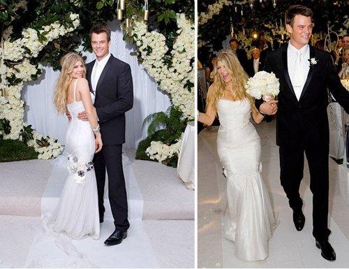Josh and fergie Wedding