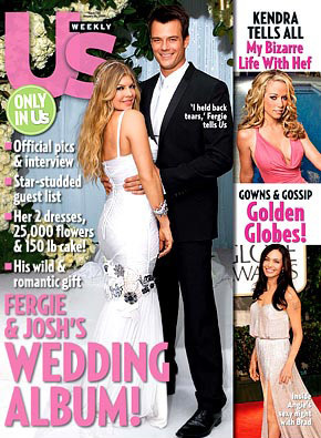 Josh and fergie Wedding