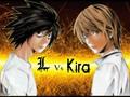 L(デスノート) vs KIRA