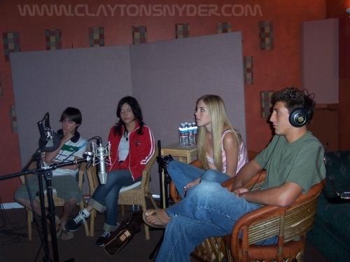 Lizzie McGuire cast on Lizzie McGuire DVD extras.