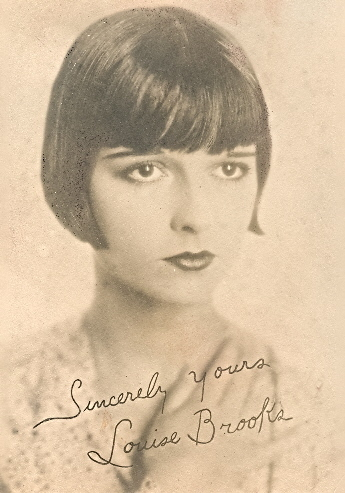 Louise Brooks autograph