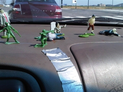 Mah army men still holdin it down