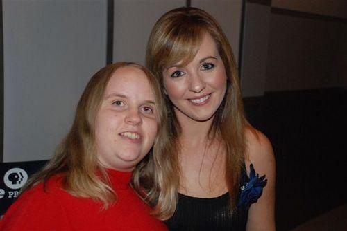 Meeting Lisa Kelly at the Blue Ridge PBS Studio 1
