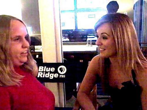 Meeting Lisa Kelly at the Blue Ridge PBS Studio 2