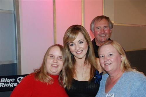 Meeting Lisa Kelly at the Blue Ridge PBS Studio 3