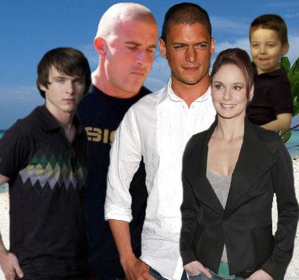 Michael, Lincoln, Sara, LJ and MJ
