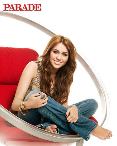 Miley Cyrus Parade Magazine picha shoot