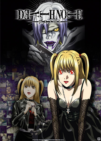 Misa Amane and her Shinigami Rem Anime, Death note l