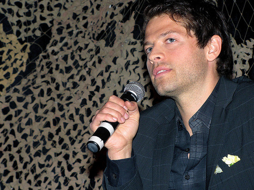 Misha Collins at LA Con '10