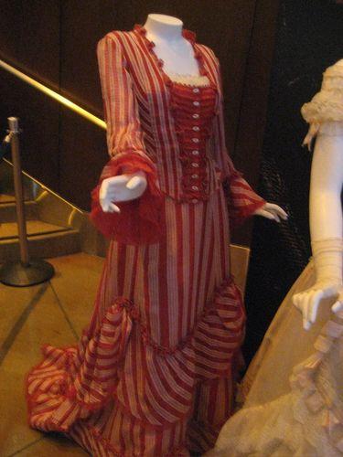 Mrs. Lovett's seaside dress