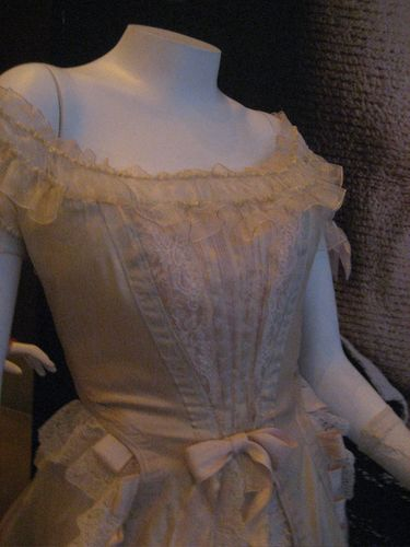 Mrs. Lovett's (wannabe) wedding dress