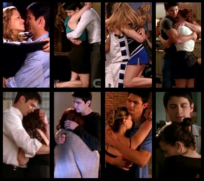 One Tree Hill wallpaper titled Naley Hugs <3