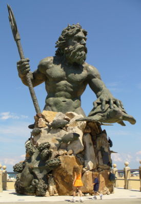 Neptune at Virginia Beach, Virginia, U.S.